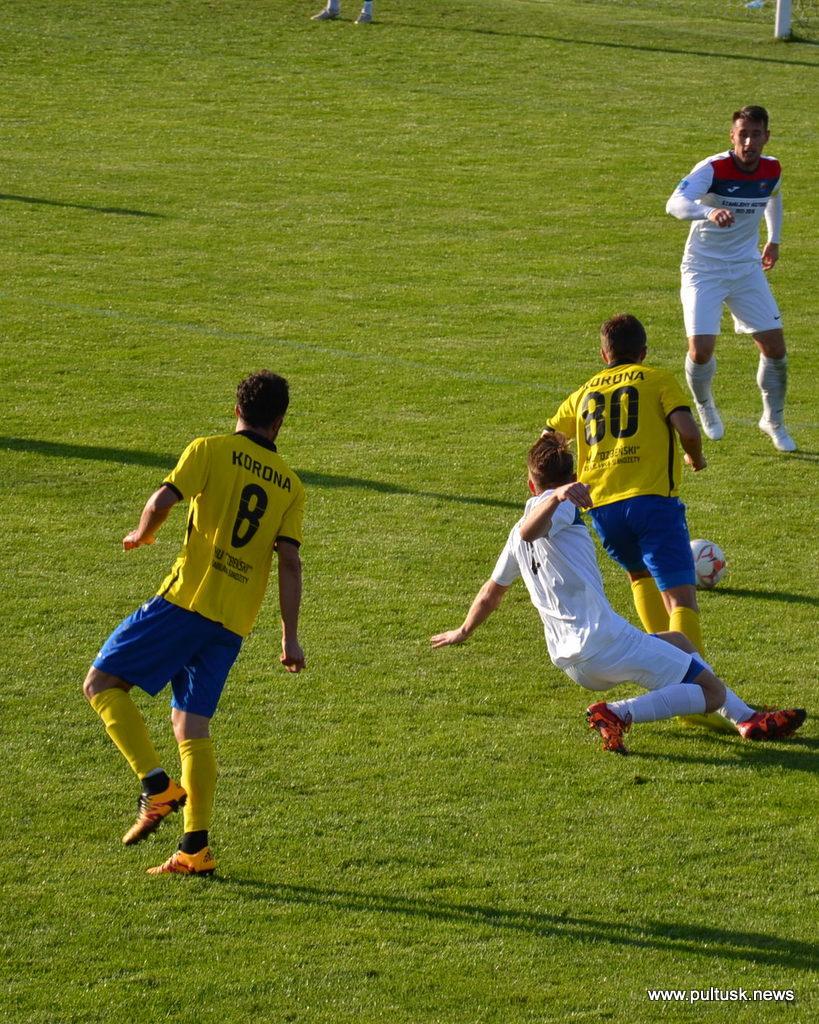 Nadnarwianka Pułtusk vs Korona Ostrołęka 1:1 (0:0) - Pultusk News