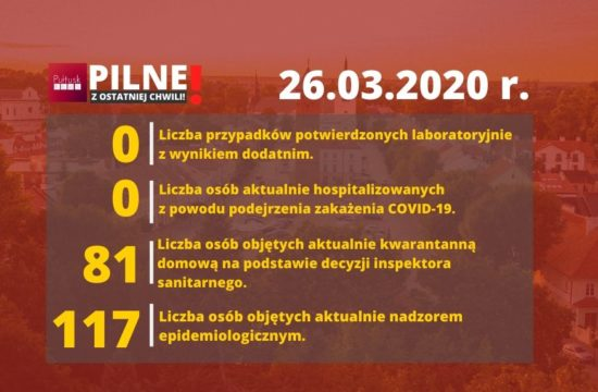 26 marca koronawirus powiat pułtuski