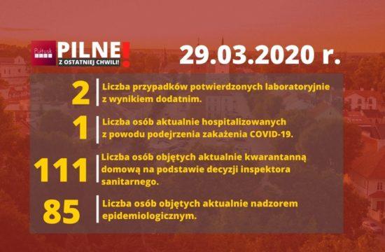 koronawirus Pułtusk 29 marca