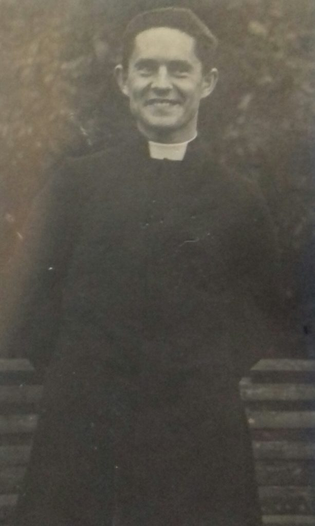 ks. S. Borek. Foto z 1948r.