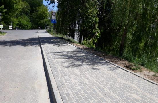 remont chodnika przy ul. Staszica