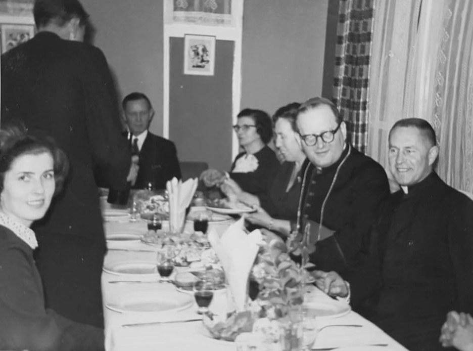 Bp B. Sikorski z wizytą u ks. Borka w Swindon