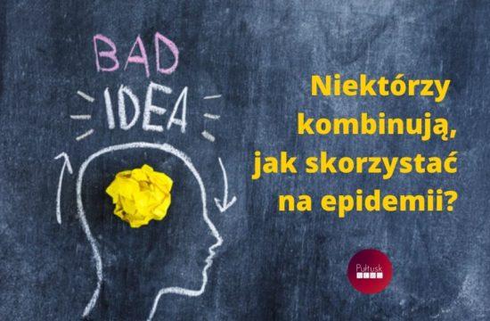 zły pomysł