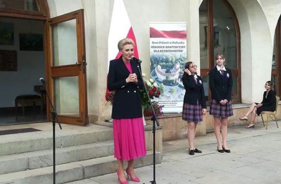 Pierwsza Dama Agata Duda w Pułtusku