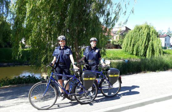 Rwerowy patrol Straży Miejskiej