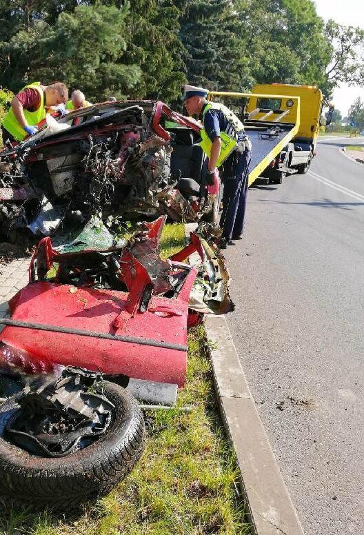wypadek w Winnicy