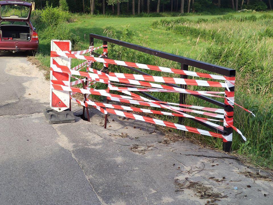 uszkodzony mostek