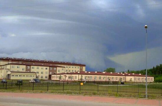 tornado nad Pułtuskiem