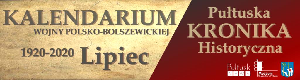 kalendarium wojny polsko-bolszewickiej - dzieje Pułtuska