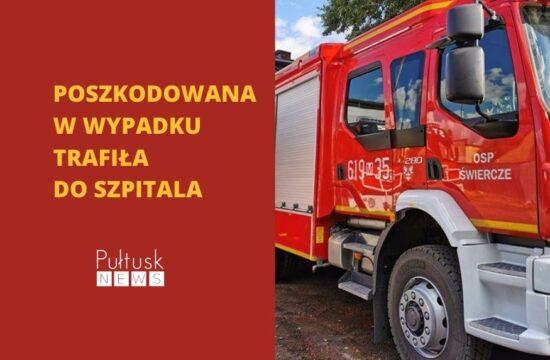 wypadek w Klukowie