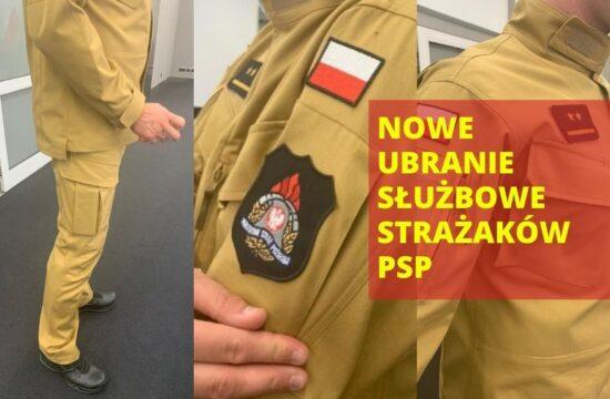 Nowy mundur PSP