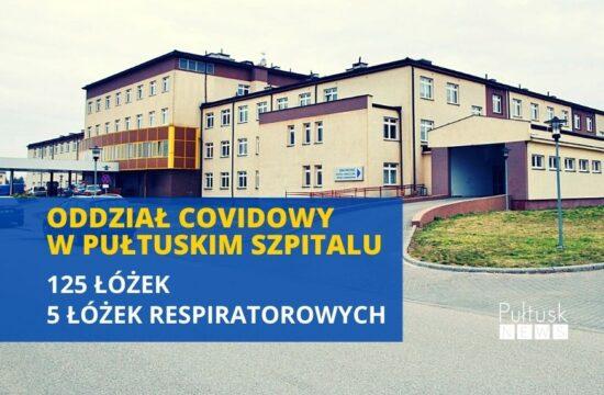 szpital covidowy w Pułtusku