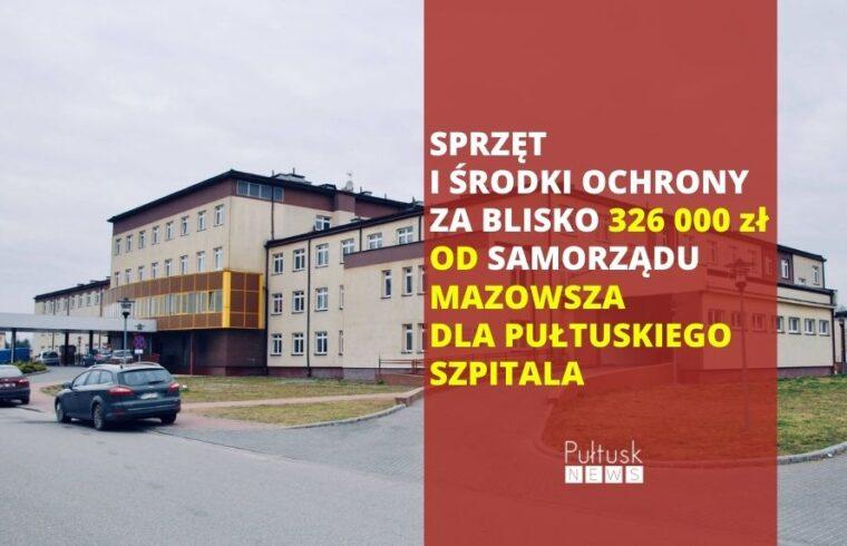 wsparcie Mazowsza dla szpitali
