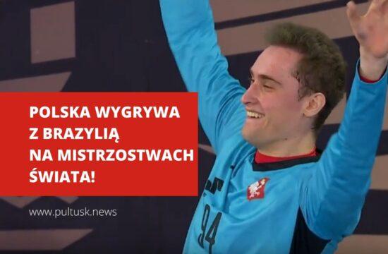 Mistrzostwa Świata w piłce ręcznej Polska wygrywa z Brazylią