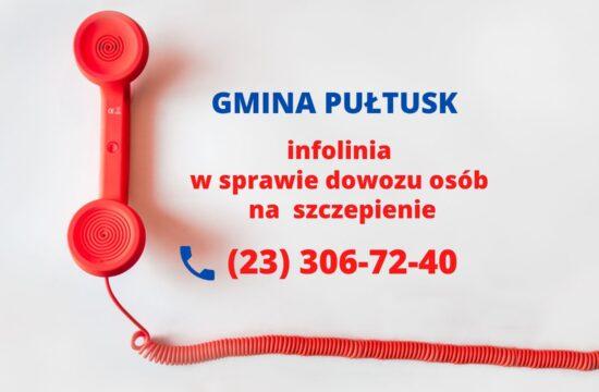 informacja Urząd Miejski w Pultusku