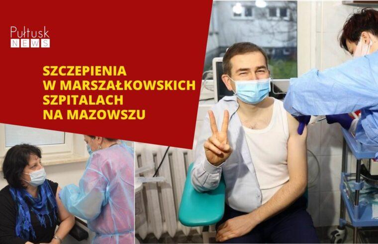 szczepienia na Mazowszu