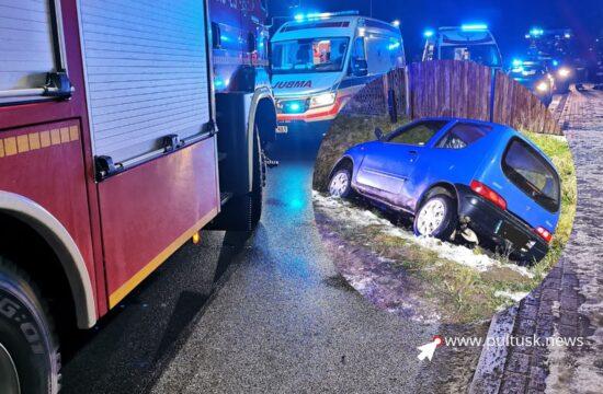 wypadek w Psarach